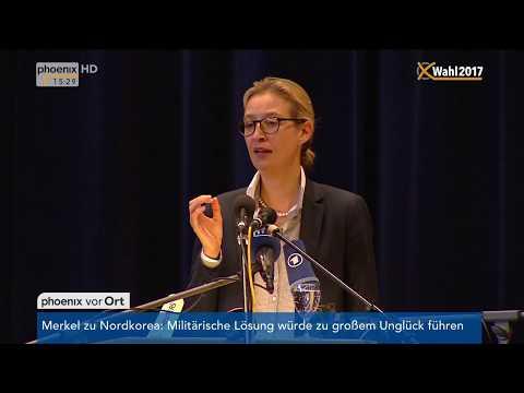 Wahlkampfabschluss der AfD: Rede von Alice Weidel