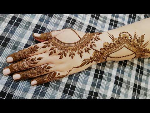 Gulf Henna Design 17 2018 Heena Vahid Youtube