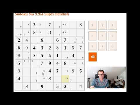 How to solve the Super Fiendish Sudoku