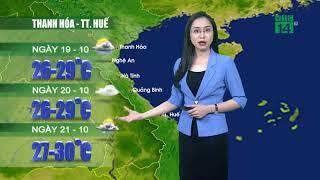Thời tiết 12h 18/10/2018: Ngày mai miền Bắc đón không khí lạnh tăng cường| VTC14