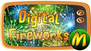 Repeat youtube video GOODBYE PAPUTOK ! HD ( fireworks visual & sound effects for 11 minutes! )