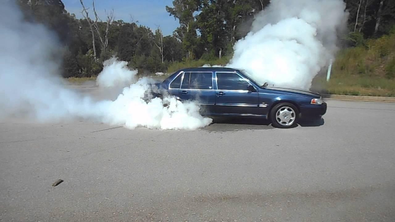 1997 volvo s90 smokey burnout b6304s 3 0l i6