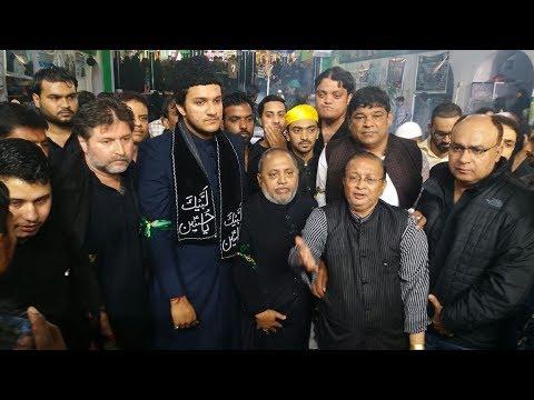 Akbaruddin Owaisi Son Nooruddin Owaisi Visit Alawa's At Old City Hyderabad