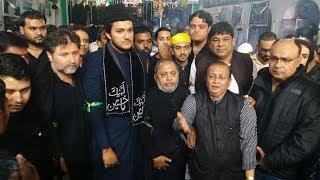 Akbaruddin Owaisi Son Nooruddin Owaisi Visit Alawa 39 s At Old City Hyderabad