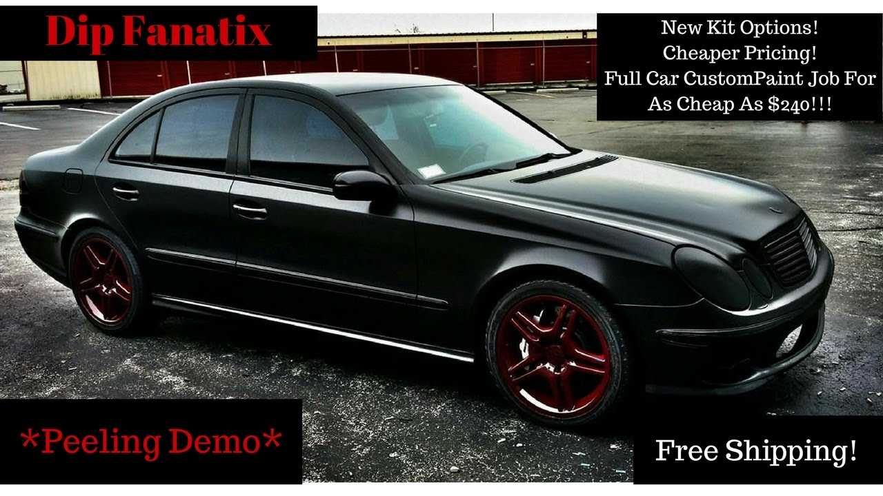 Paint Your Own Car! New Kit Options! New Cheaper Pricing ...