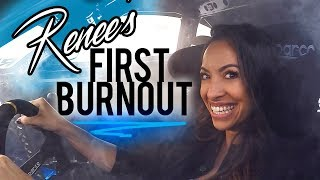 My Wife Does A Burnout In My SUPRA