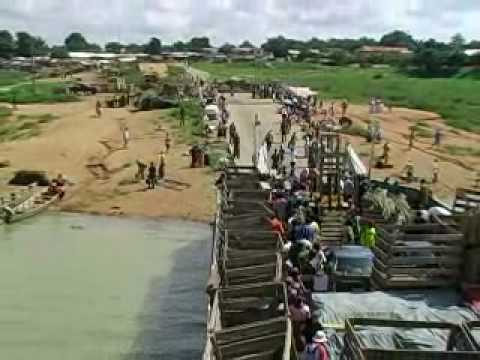 Taking the Yapei Queen across Lake Volta