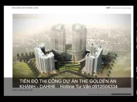 The Golden An Khánh Đang Thi Công T4.2015