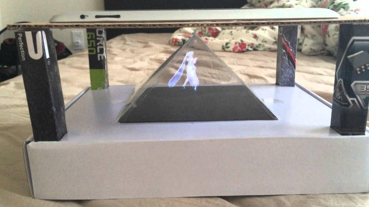 Home Make 3d Projector Hologram Youtube