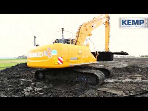 Kobelco SK290 met lange giek (basis SK260) Jos Scholman