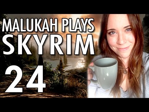 Malukah Plays Skyrim - Ep. 24: Many /facepalms in this one. Many...