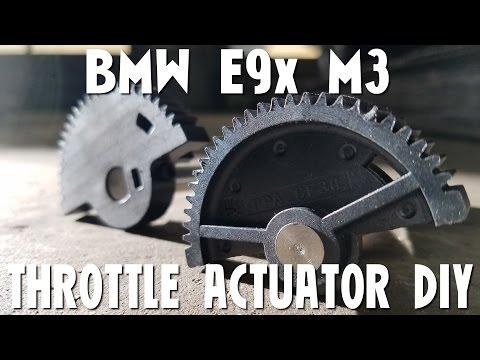 BMW S65 E90 E93 E92 M3 Throttle Actuator DIY