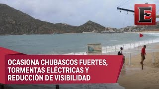 Marina activa plan preventivo en 5 estados por tormenta Sergio