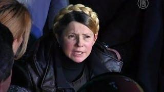Юлия Тимошенко выступила cо сцены Майдана (новости)(http://www.ntdtv.ru Юлия Тимошенко выступила cо сцены Майдана. Под конец дня в субботу на Майдане выступила Юлия..., 2014-02-22T22:45:39.000Z)