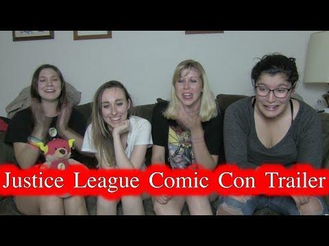 Justice League Trailer SDCC17