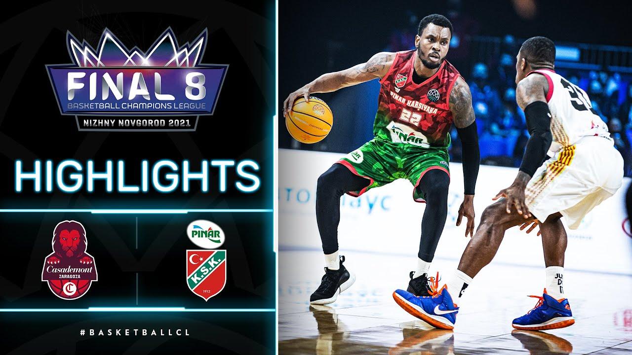 Casademont Zaragoza v Pinar Karsiyaka - Highlights | Basketball Champions League 2020/21