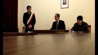 Gonnostramatza - Visita  del Prefetto di  Oristano(1di3)