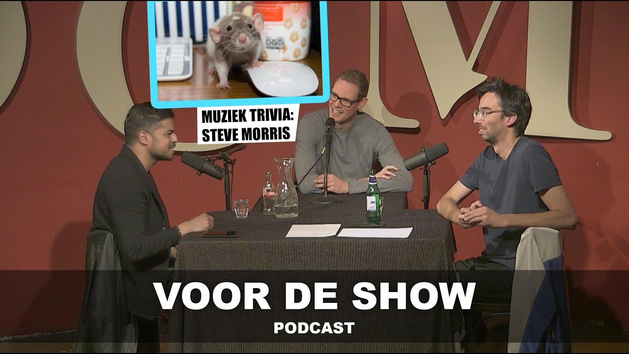 'VOOR DE SHOW' PODCAST': AFL. 22 - Tim Fransen - Muziek trivia Steve Morris