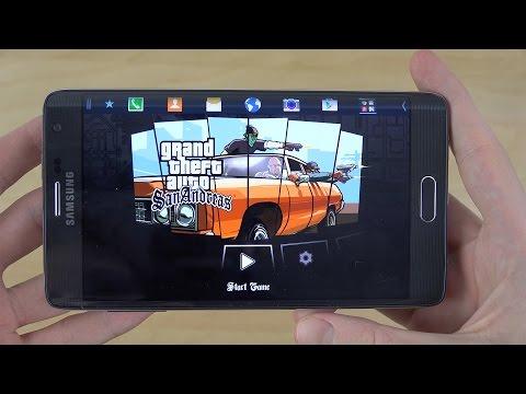 GTA San Andreas Samsung Galaxy Note Edge Gameplay Review (4K)