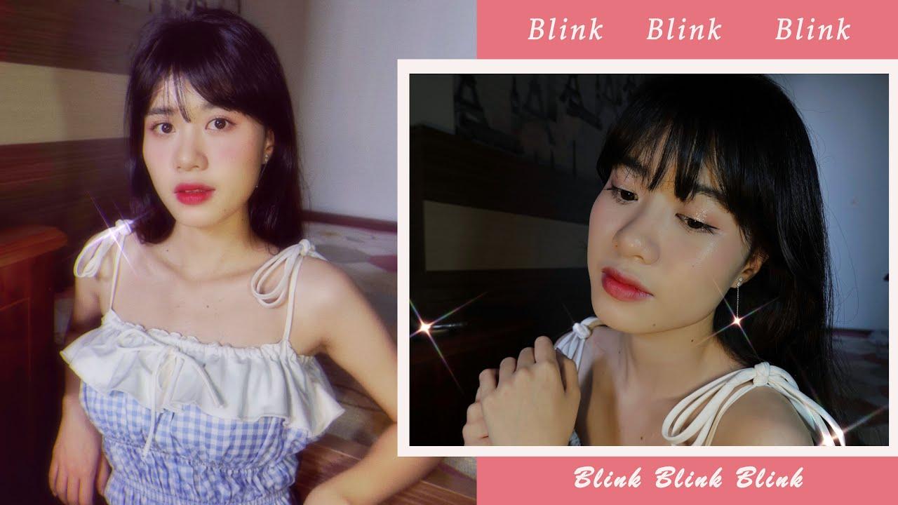 ✨PINK BLINK BLINK MAKE UP✨ HƯỚNG DẪN MAKE UP HỒNG LẤP LÁNH / BEAUTYOFCANDIES