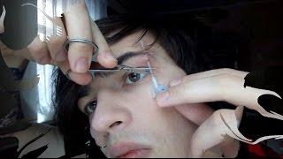 Домашний пирсинг (бровь, губа) / Piercing at Home (lip and eyebrow)