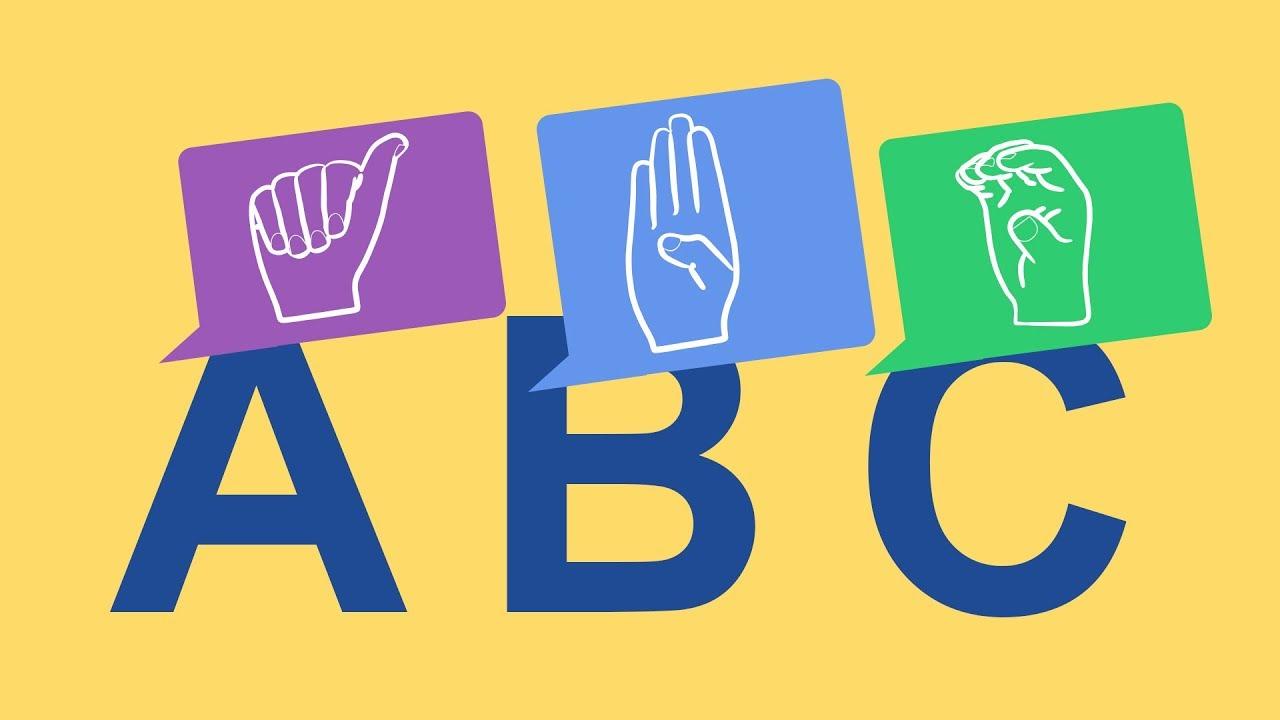 Alfabeto Em Libras Letra Por Letra Com Audio Video Educativo