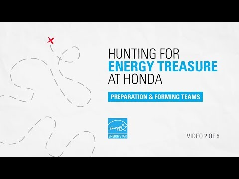Hunting For Energy Treasure at Honda: Preparation & Forming