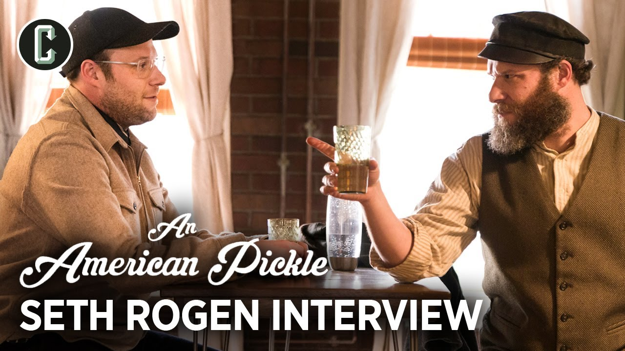 Seth Rogen on Scheduling An American Pickle Filming Around His Beard