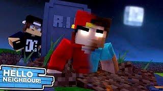 Minecraft Hello Neighbour  - ROPO BECOMES HEROBRINE!!!