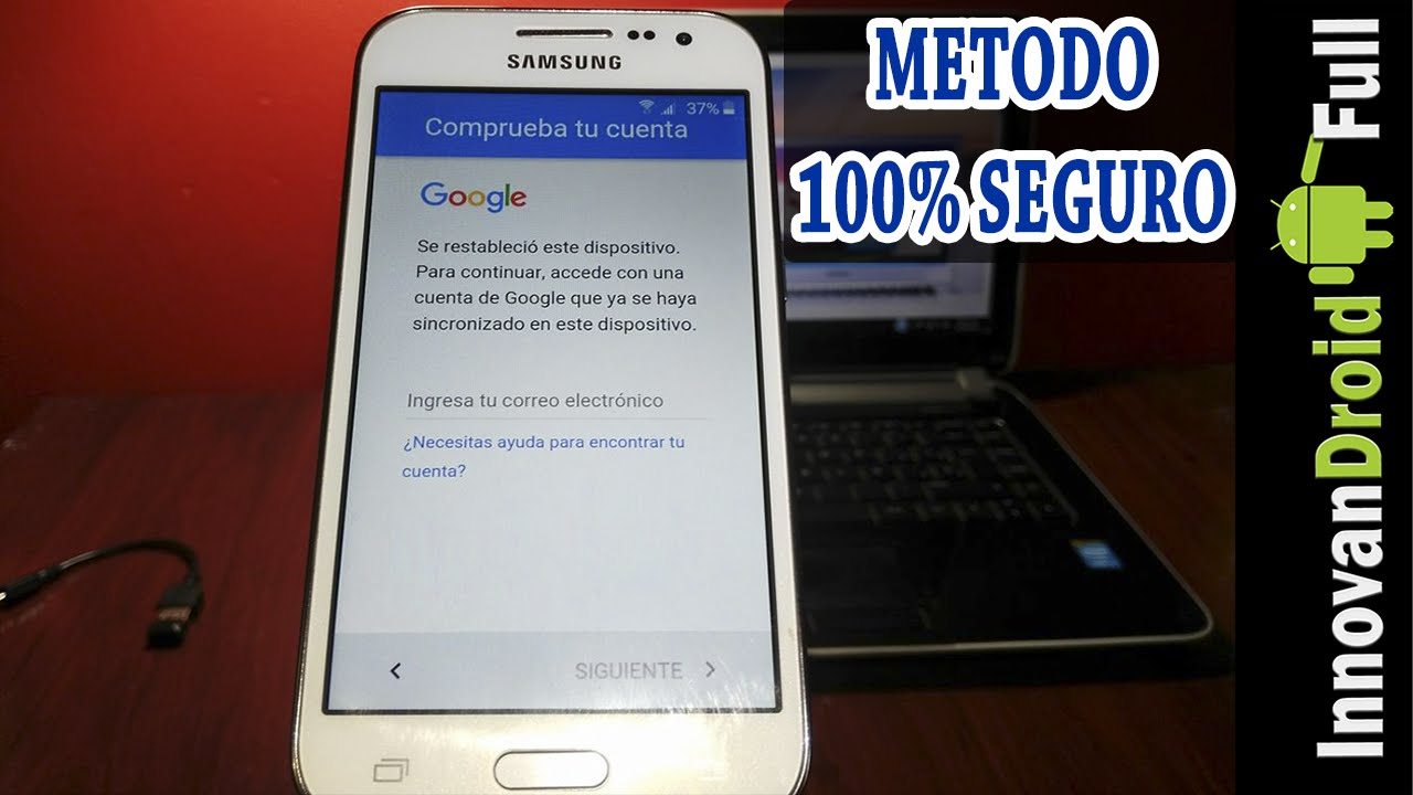 Remover Bloqueo por Cuenta de Google en Samsung Método Definitivo ...
