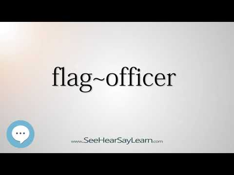 flag~officer    5,000 SAT Test Words and Definitions Series 🔊