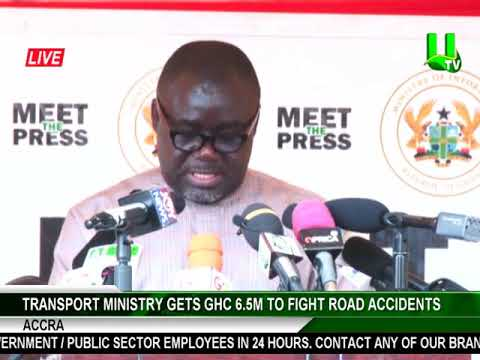 Transport Ministry gets GHC6.5m to fight road accidents