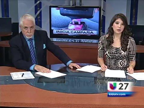 Miguel Amante y Lorena Ibarra - Noticiero Univision Laredo