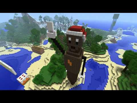 Minecraft - Mr Hankey the christmas poo