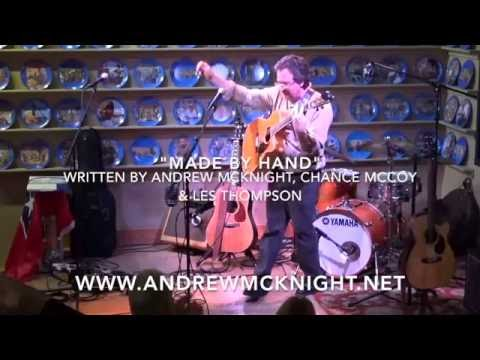 "Andrew McKnight ""Made by Hand"" live on WDVX"