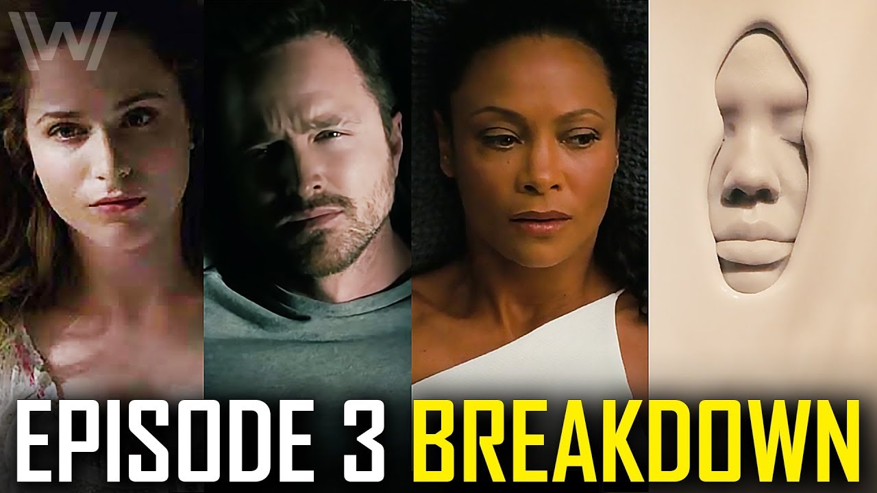 WESTWORLD Season 3 Episode 3 Breakdown | Ending Explained, Who Hale Really Is & Easter Eggs