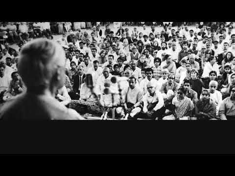 Audio | J. Krishnamurti –Bangalore 1973 – Public Talk 3 – A Meditative Mind Is Free Of All Control