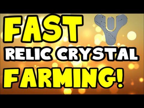 Destiny: FAST Relic Iron /  Relic Crystal Farming!