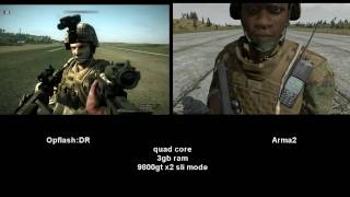Repeat youtube video Operation Flashpoint: DR vs Arma:2