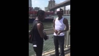 Gully Bop & Mc Nuffy Diss Tony Matterhorn In New York City