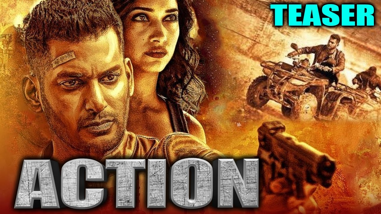 Download Action 2020 Official Teaser Hindi Dubbed | Vishal, Tamannaah, Aishwarya Lekshmi