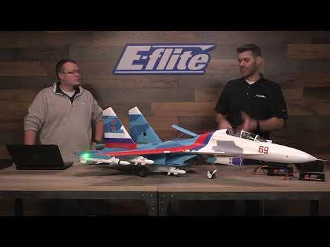 Live Discussion: E-flite® Su-30 Twin 70mm EDF