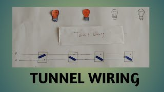 BASIC OF TUNNEL WIRING //how to tunnel wiring work// tunnel wiring connection