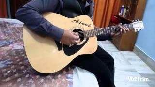 Hai Apna dil to Awara guitar instrumental