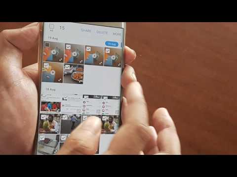How You Can Delete Videos And Pictures From Your Smartphone Gallery