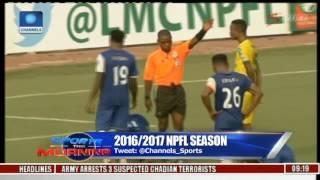 npfl season mfm fc beat enugu rangers 2 1