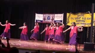 Indu Banigella Habba - Dance during NEKK Yugadi 2013