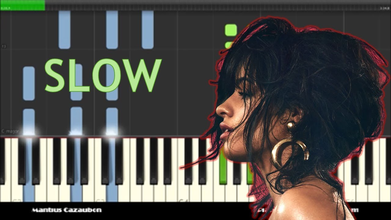 Piano Notes for Havana by Camila Cabello ft  Young Thug