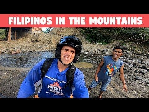 FILIPINO HELPING KYLE JENNERMANN IN THE MOUNTAINS - BecomingFilipino, Iloilo