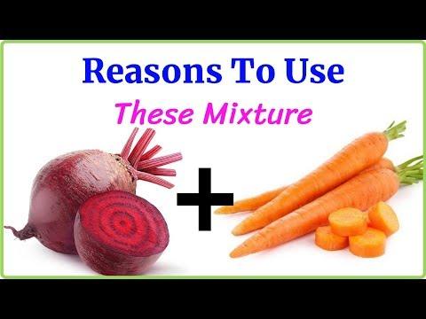 Drink carrot mixed beetroot juice for surprising benefits